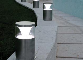 Scattola filippo ferro battuto illuminazione interna esterna